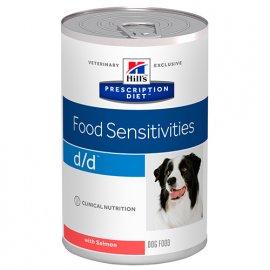 Hill's Prescription Diet d/d Food Sensitivities лечебные консервы для собак ЛОСОСЬ, 370 г