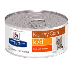 Hill's Prescription Diet k/d Kidney Care лечебные консервы для кошек КУРИЦА