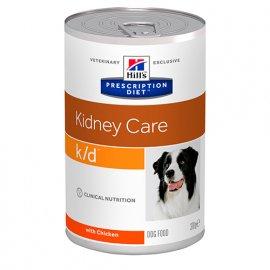 Hill's Prescription Diet k/d Kidney Care лечебные консервы для собак КУРИЦА, 370 г