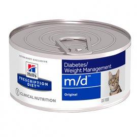 Hill's Prescription Diet m/d Diabetes Care лечебные консервы для кошек