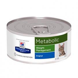Hill's Prescription Diet Metabolic Weight Management лечебные консервы для кошек