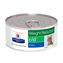 Hill's Prescription Diet r/d Weight Reduction лечебные консервы для кошек