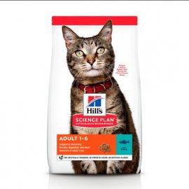 Hill's Science Plan Adult Optimal Care корм для кошек с тунцом
