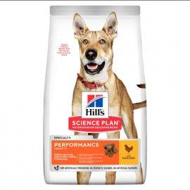 Hill's Science Plan Adult Performance корм для активных собак с курицей