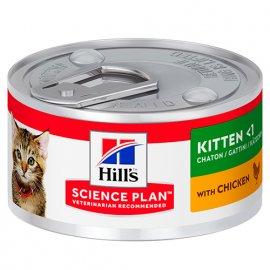 Hill's Science Plan KITTEN консервы для котят КУРИЦА
