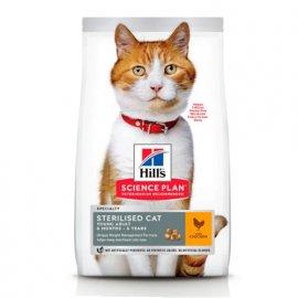 Hill's Science Plan Young Adult Sterilised Cat корм для кошек с курицей
