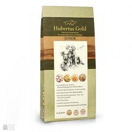 Hubertus Gold JUNIOR корм для щенков и молодых собак КУРИЦА и УТКА,14 кг
