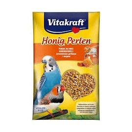 Vitakraft (Витакрафт) УКРЕПЛЕНИЕ ОРГАНИЗМА С МЕДОМ пищевая добавка для попугаев (21182), 20 г