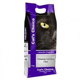 Indian Cat Litter LAVENDER комкующийся наполнитель С АРОМАТОМ ЛАВАНДЫ