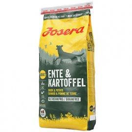 Josera ENTE & KARTOFFEL (УТКА И КАРТОФЕЛЬ) беззерновой корм для собак c чувствительным пищеварением