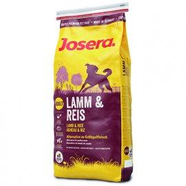 Josera LAMB AND RICE (ЯГНЕНОК И РИС) гипоаллергенный сухой корм для собак