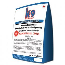 K9 Selection MAINTENANCE FORMULA сухой корм для собак средних пород