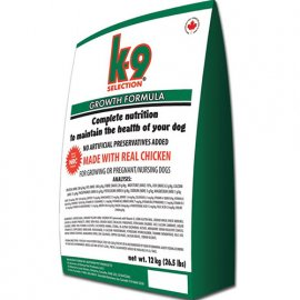 K9 Selection GROWTH FORMULA сухой корм для щенков, беременных и кормящих сук