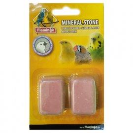 Flamingo (Фламинго) PICKSTONE (МИНЕРАЛЬНЫЙ КАМЕНЬ) минералы для птиц, розовый, 4х3х2 см