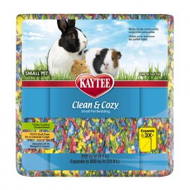 Kaytee (Кейти) CLEAN&COZY BIRTHDAY CAKE (КЛИН КОЗИ РАЗНОЦВЕТНЫЙ) подстилка для грызунов, целлюлоза