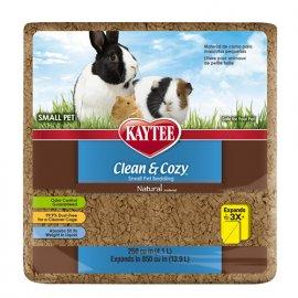 Kaytee (Кейти) CLEAN&COZY VEGETABLE NATURAL (КЛИН КОЗИ НАТУРАЛ) подстилка для грызунов, целлюлоза