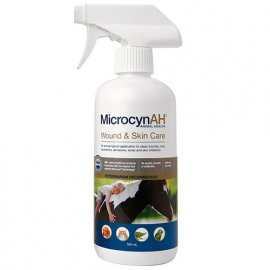 MicrocynAH® (Микроцин) WOUND&SKIN CARE LIQUID спрей для ухода за ранами и кожей