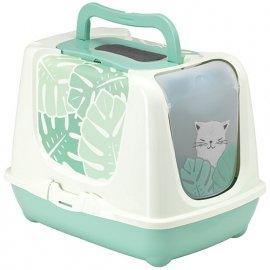 Moderna Trendy Cat Eden закрытый туалет для котов c угольным фильтром и совком