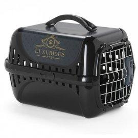 Moderna TRENDY RANNER LUXURIOUS PET переноска для кошек и собак мелких пород с металлической дверью и замком IATA
