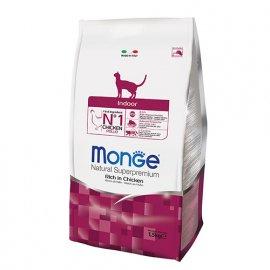 Monge INDOOR сухой корм для домашних кошек КУРИЦА