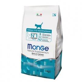 Monge KITTEN сухой корм для котят от 1 до 12 месяцев КУРИЦА и РИС