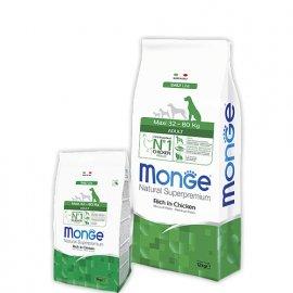 Monge MAXI ADULT CHICKEN & RICE сухой корм для собак крупных пород КУРИЦА и РИС