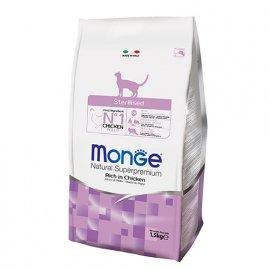 Monge STERILISED сухой корм для стерилизованных кошек КУРИЦА