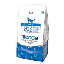 Monge URINARY сухой корм для кошек для профилактики мочекаменной болезни КУРИЦА