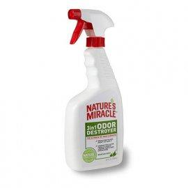 Natures Miracle 3in1 ODOR DESTROYER MOUNTAIN FRESH Уничтожитель запаха ГОРНАЯ СВЕЖЕСТЬ спрей, 710 мл