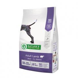 Natures Protection (Нейчез Протекшин) ADULT LAMB (ЭДАЛТ ЯГНЕНОК) корм для взрослых собак от 18 месяцев