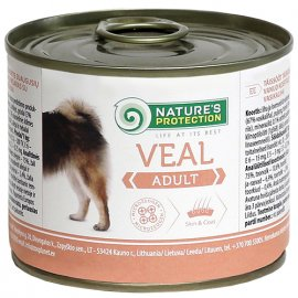 Natures Protection (Нейчез Протекшин) ADULT VEAL (ЭДАЛТ ТЕЛЯТИНА) консерва для собак