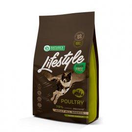 Natures Protection Lifestyle GRAIN FREE ADULT POULTRY корм для собак всех пород ПТИЦА