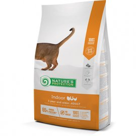 Natures Protection (Нейчез Протекшин) INDOOR (ИНДУР ПТИЦА) корм для домашних кошек от 1 года