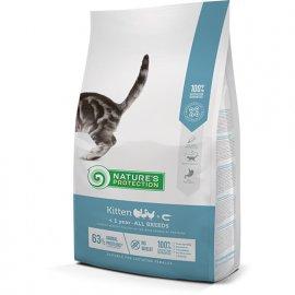 Natures Protection (Нейчез Протекшин) KITTEN (КИТТЕН ПТИЦА) корм для котят, с момента изъятия до 1 года