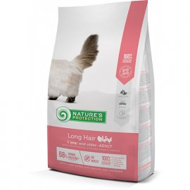 Natures Protection (Нейчез Протекшин) LONG HAIR корм для взрослых длинношерстных кошек