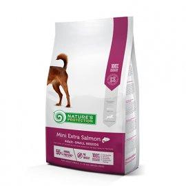 Natures Protection (Нейчез Протекшин) MINI EXTRA SALMON (ЛОСОСЬ) Корм для собак малых пород весом от 1 до 10 кг