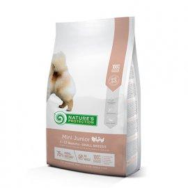 Natures Protection (Нейчез Протекшин) MINI JUNIOR (МИНИ ЮНИОРЫ КУРИЦА И РИС) корм для щенков малых пород от 2 до 10 месяцев