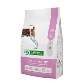 Natures Protection (Нейчез Протекшин) JUNIOR LAMB (ЮНИОРЫ ЯГНЕНОК) корм для щенков всех пород от 2 до 18 месяцев