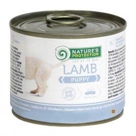 Natures Protection (Нейчез Протекшин) PUPPY LAMB (ПАППИ ЯГНЕНОК) консерва для щенков