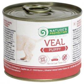 Natures Protection (Нейчез Протекшин) PUPPY VEAL (ПАППИ ТЕЛЯТИНА) консерва для щенков