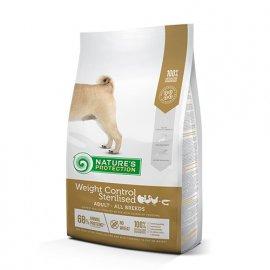Natures Protection (Нейчез Протекшин) WEIGHT CONTROL STERILISED (СТЕРИЛИЗЕД КУРИЦА) корм для собак после стерилизации и склонных к полноте