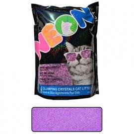 Neon Litter (Неон Литтер) CLUMP НЕОН (КЛАМП НЕОН) комкующийся кварцевый наполнитель, неоновый фиолетовый, 1.81 кг (4 л)