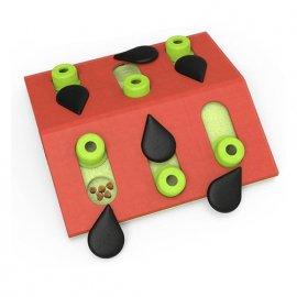 Nina Ottosson MELON MADNESS интерактивная игрушка - головоломка для кошек АРБУЗ