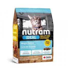 Nutram I12 Ideal Solution Support WEIGHT CONTROL (ВЕЙТ КОНТРОЛ) корм для кошек, склонных к ожирению