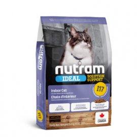 Nutram I17 Ideal Solution Support INDOOR (ИНДОР) корм для кошек, живущих в помещении