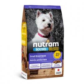 Nutram S7 Sound Balanced Wellness SMALL BREED ADULT DOG (СМОЛЛ БРИД) холистик корм для собак малых пород