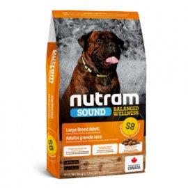 Nutram S8 Sound Balanced Wellness LARGE BREED ADULT DOG (ЛАРДЖ ДОГ) холистик корм для собак крупных пород