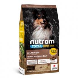 Nutram T23 Total Grain-Free TURKEY, CHICKEN & DUCK (ИНДЕЙКА, КУРИЦА И УТКА) беззерновой корм для щенков и взрослых собак