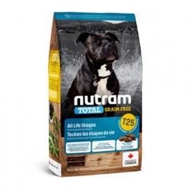 Nutram T25 Total Grain-Free SALMON & TROUT (ЛОСОСЬ И ФОРЕЛЬ) беззерновой корм для щенков и взрослых собак