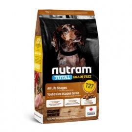 Nutram T27 Total Grain-Free TURKEY, CHICKEN & DUCK SMALL BREED беззерновой корм для собак малых пород